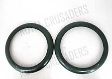 BRAND NEW WILLYS HEADLIGHT OUTER BEZEL RIM (PAIR)  @CL