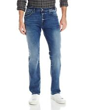 Guess Hombre Regulares Recta Jeans In Passage Lavado Talla 29x30