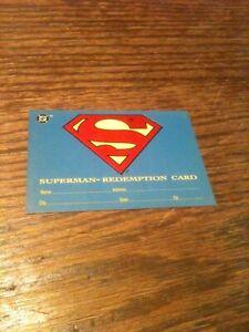 1993 Skybox DC Comics Bloodlines Superman Redemption Exchange Card Nice Shape S5