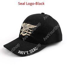 United States US Navy Seal Trident Seal Insignia Military Cap Gorra De Béisbol B