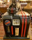 Vintage Columbia Mechanical Slot Machine, Chicago, Table Top, Dime/10 Cent-Works