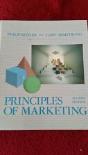 Principles Of Marketing Philip Kotler 4th Fourth Edition Hardback 1989 659 Pages