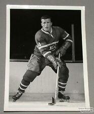Original Late 50's Claude Provost Mtl Canadiens Photo