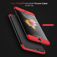 Ultra Thin 360°Shockproof Hard Back Case Cover For iPhone 6/6s, 7G 6 Plus 7 Plus