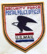 United States Security Force Postal Police Patch U.S. Postal Inspection Service