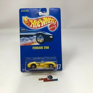 #6741  Ferrari 250 #117 * Hot Wheels Blue Card * WE2