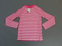 Boden Girl's Long Sleeve Rash Guard Swim Top MS7 Size 9-10Y NWT