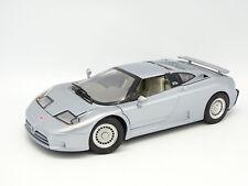Burago SB 1/18 - Bugatti EB110 1991 Silver