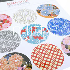 9pcs New Design Pretty Floral Labels Stickers Scrapbooking Journal Diary #SK-02