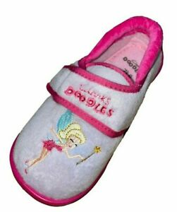 Clarks Doodles Pink Kids Girls Fairy Tinkerbell Soft Pumps Baby WashableShoes