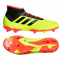 Adidas Predator 18.2 Fg Hommes Chaussures de Football Came Firm Terrain Pelouse