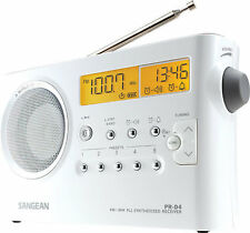 NEW Sangean PR-D4P/PR-D4 PLL Digital AM/FM Portable Radio Receiver w/110V AC