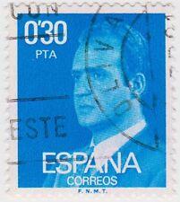 (SPB179) 1976 SPAIN 30p blue king Carlos ow2391