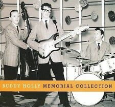 Memorial Collection [Slipcase] by Buddy Holly (CD, Mar-2009, 3 Discs, Geffen)