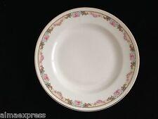KT&K Knowles Taylor Ivory Semi Vitreous China Roses Yellow 7-1/8 SALAD PLATE 34B