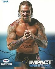 Gunner Signed 8x10 Photo PSA/DNA COA TNA Impact Pro Wrestling Promo Picture Auto