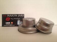 Mason Jar Cocktail Shaker Lid