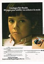 PUBLICITE   1975   VERT BAUDET
