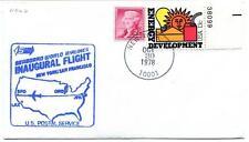 FFC 1978 Inaugural Flight New York JFK San Francisco Seaboard World Airlines USA