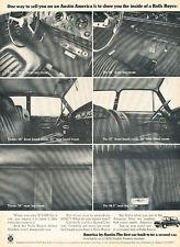 1968 Austin America vs. Rolls Royce - Classic Vintage Advertisement Ad H81
