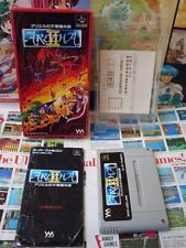 Super Famicom SFC:Aretha II - Ariel no Fushigi na Tabi [TOP RPG] COMPLET - Jap