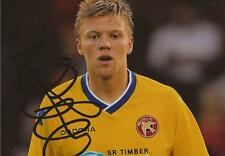 WALSALL: NICKY FEATHERSTONE SIGNED 6x4 ACTION PHOTO+COA