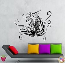 Wall Stickers Vinyl Decal Kissing Couple Romantic Flower Decor  (z1953)