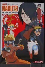JAPAN Masashi Kishimoto TV Anime Premium Book Naruto The Animation Chronicle TEN