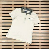 Womens Polo T Shirt Barbour Size UK 10 Beige