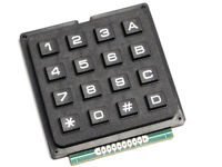 4x4 Array Matrix Keypad for Arduino etc. - Tactile Hard Keys - Plastic