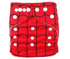 NEW REUSABLE MODERN BABY CLOTH NAPPIES & Insert, Spider Web