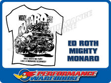 ED ROTH BIG DADDY MONSTER T-SHIRTS MIGHTY MONARO WHITE LARGE