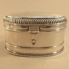 """Heavy Mid 17th c ? Early American ? Coin Silver Sugar Box """"as is"""" Ethrog Judaica"""
