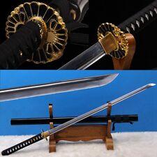 Handmade Japanese NINJATO SWORD CHOKUTO Carbon Steel Katana Full Tang Blade -110