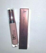 IT Cosmetics Vitality Lip Flush Stain Lipgloss - Soft Je Ne Sais Quo - New