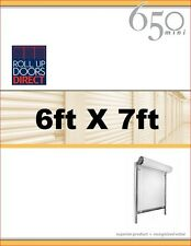 Roll Up Doors Direct Janus Model 650 6ft W x 7ft H