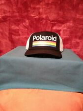 Polaroid Trucker Snap Back Hat New With Tags. Standard USPS Ground Shipping.