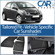 Toyota Yaris 5dr 05-11 UV CAR SHADES WINDOW SUN BLINDS PRIVACY GLASS TINT BLACK