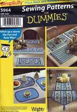 TABLE RUNNER Runners MAT Place Mats SEWING Patterns