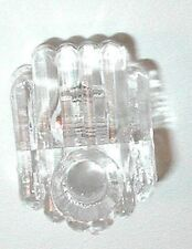 "20 PC CLEAR Wall Mirror Holder Clips for 1/4"" Glass Oval Head Screws Included"