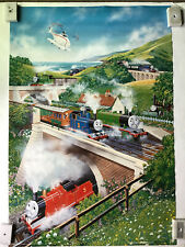 Thomas The Tank Engine And Friends Vintage Large Poster