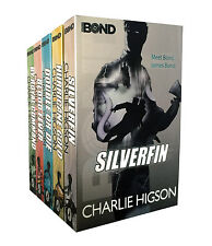 Young Bond Series Collection Charlie Higson 5 Books Set SilverFin, Blood Fever