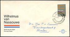 Paesi Bassi 1968 olandese INNO NAZIONALE FDC primo giorno Coperchio #C 27338