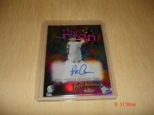 Pete Alonso The Man 2020 Topps Finest Refractor Auto On Card 5/30