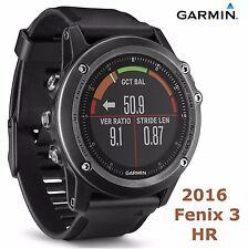 Garmin Fenix 3 HR Sapphire GPS Watch Heart Rate Monitor Cycling Bike HRM Running