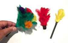 Mini Color Changing Plumes To Bouquet Feather Flowers Clown Magic Trick Multi