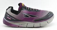 WOMENS ALTRA TORIN 2.5 RUNNING SHOES GRAY BLACK PURPLE SIZE 10.5 US 42.5 EU
