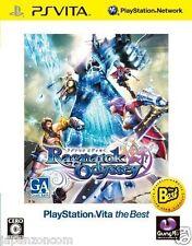 Used PS Vita Ragnarok Odyssey Best  SONY PS VITA PLAYSTATION JAPANESE  IMPORT