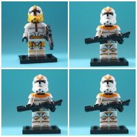 Star Wars Commander Bly 212th Legion X 3 Storm Clone Troopers Mini Figures Toys