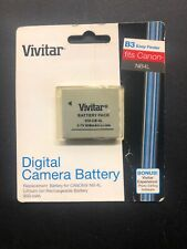 Vivitar Digital Camera Replacement Battery B3 fits Canon NB-4L 681066560099